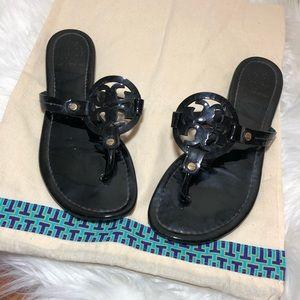 Tory Burch | Black Miller Sandals Sz 8.5